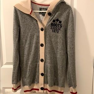 Roots Cabin Hooded Cardigan